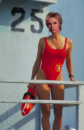 Sue on Baywatch
